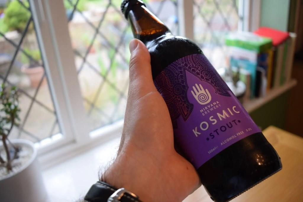 Nirvana Brewery Kosmic Stout bottle