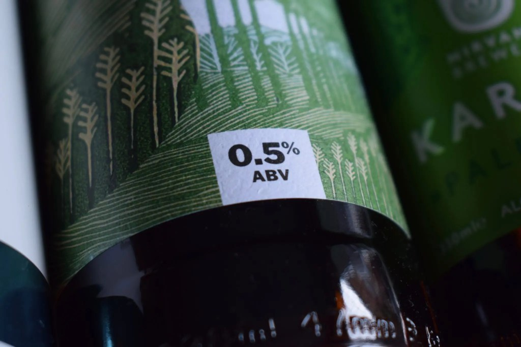 Is 0.5% alcohol-free?