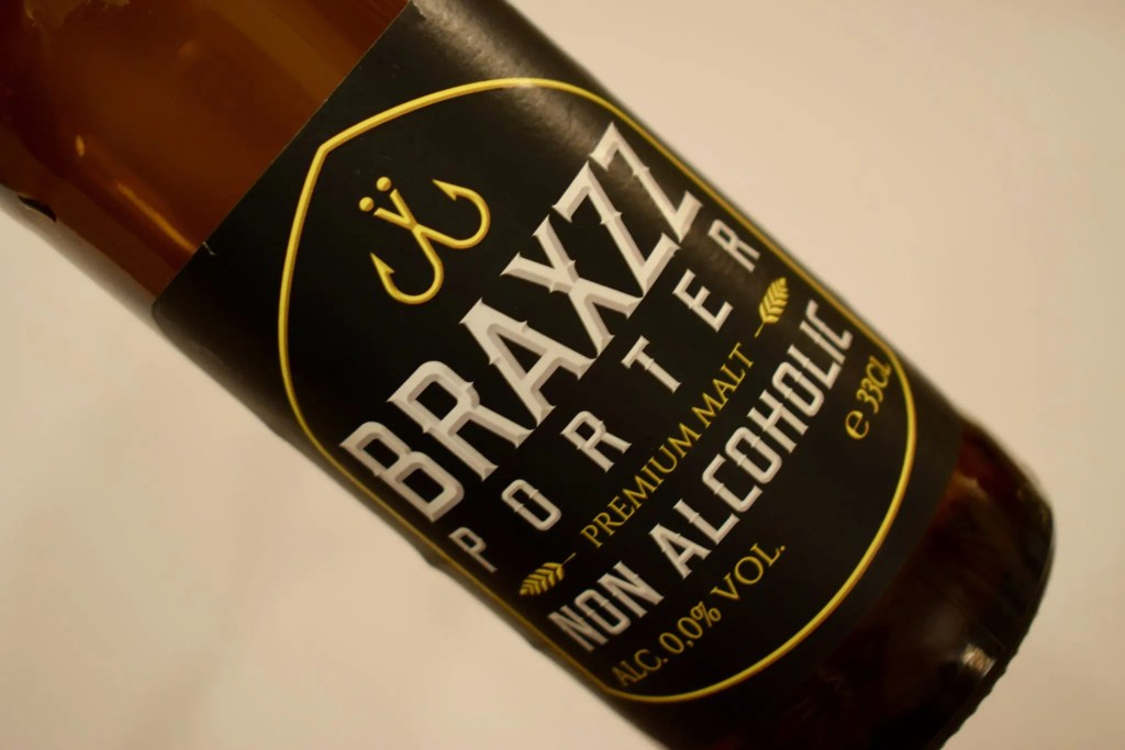 Braxzz alcohol-free porter