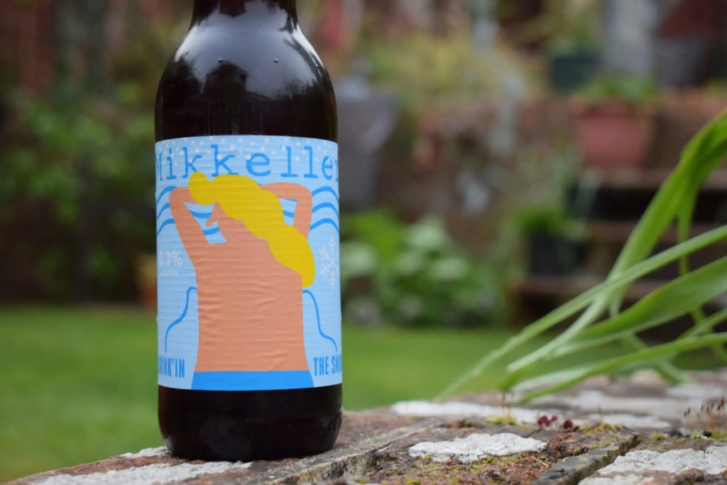 Mikkeller Drinkin the Snow label