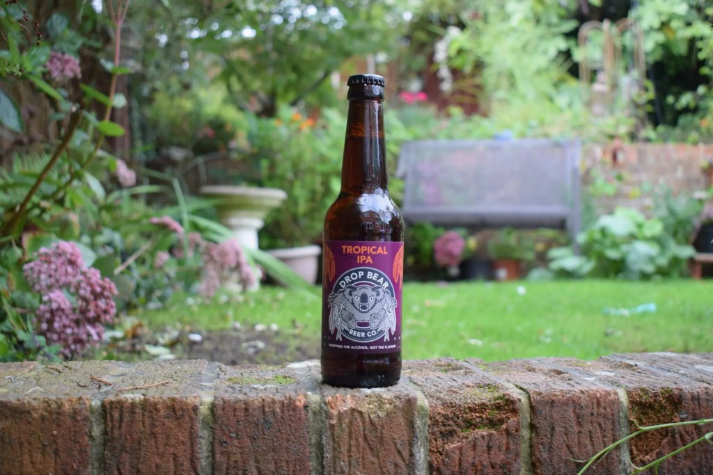 Drop Bear Beer Co 'Tropical IPA' review - low-alcohol (0.5%) India pale ale bottle
