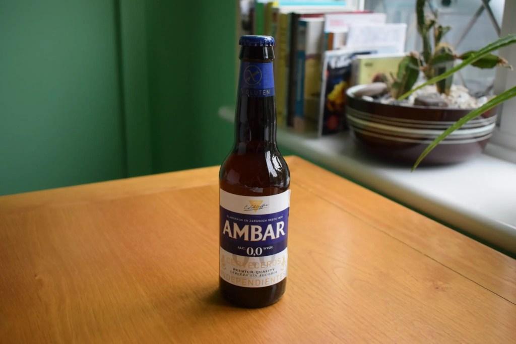 Ambar Non-Alcoholic Gluten-Free 0.0 glass