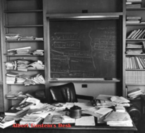 A Man and His Desk: Measurement of Genius? (1/5)