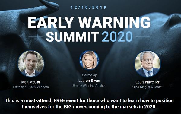 Early Warning Summit 2020