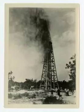 Oil Well 3.Texas State Archives