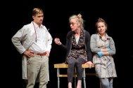 From left: Simon Esler, Lindsey Clark, Janelle Hanna Photo by Scott Murdoch