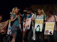 From left: Kate Kudelka, Jaclyn Zaltz, Jenna Turk, Shannon Currie, Ben Ross, Daniel Sadavoy, Pip Dwyer, Peyton LeBarr