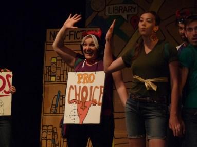 From left: Kate Kudelka, Erin Fleck