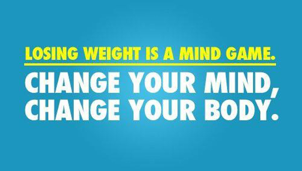 Losing Weight Is A Mind Game