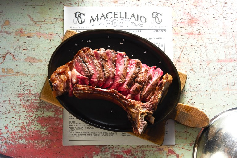 An image of rib steak at Macellaio RC