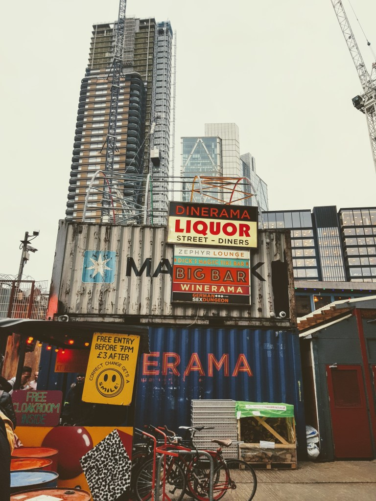 An image of the entrance to Dinerama