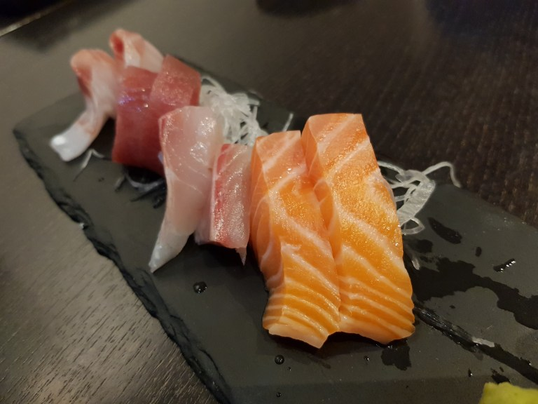 An image of sashimi