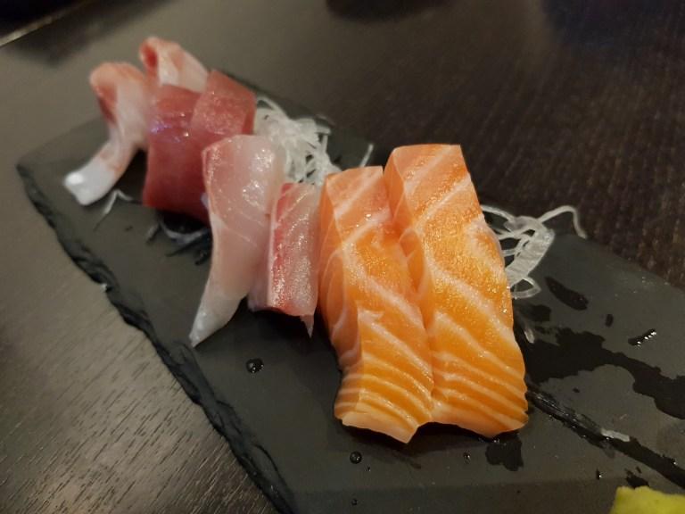 An image of sashimi