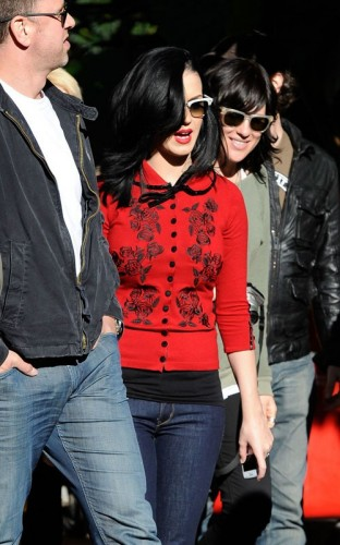 Katy Perry At Taronga Zoo Australia