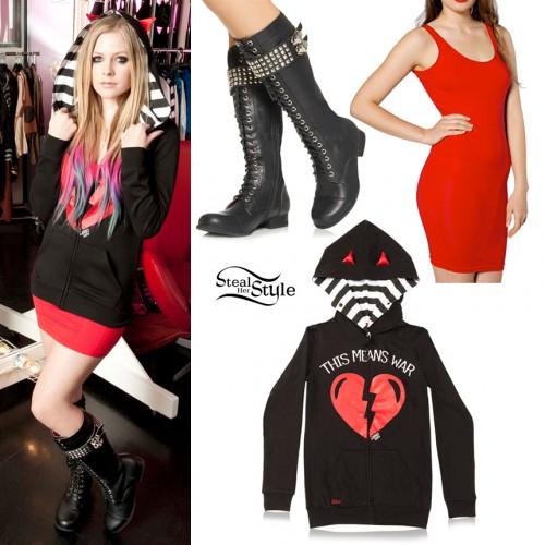 Avril Lavigne Abbey Dawn clothing line