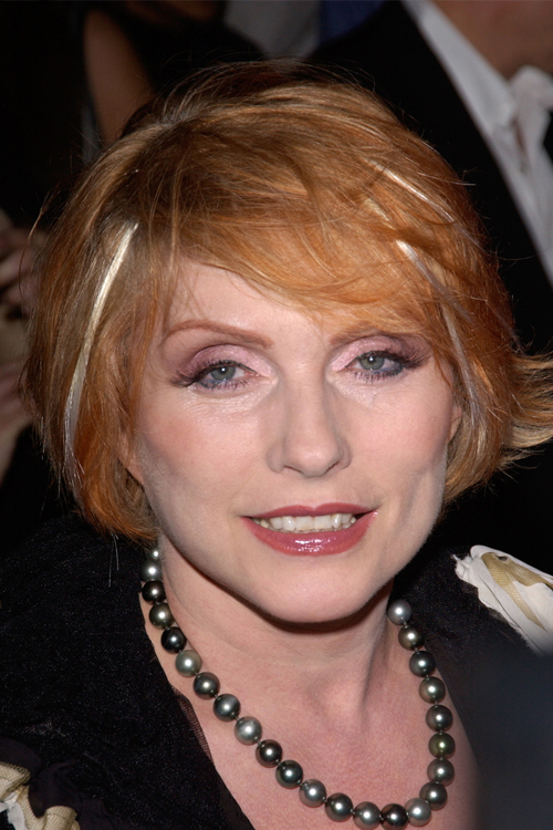 Debbie Harry Straight Ginger Hairstyle Steal Her Style