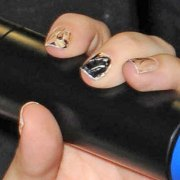 lady gaga nails steal style