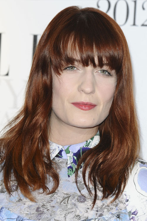 Florence Welchs Hairstyles Amp Hair Colors Steal Her Style