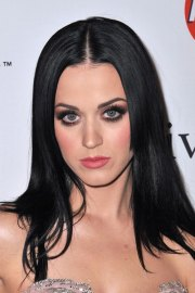 katy perry straight black angled