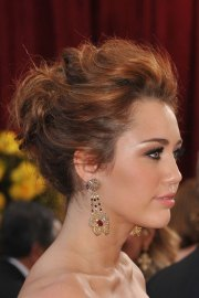 celebrity updo hairstyles steal