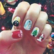 5 celebrity nail art