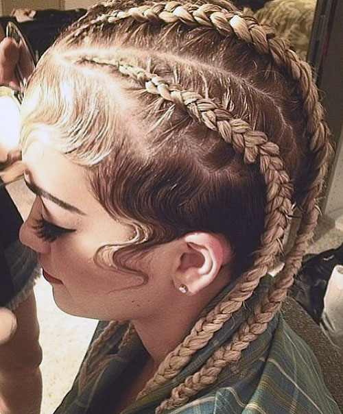 Celebrity Sideburns Hairstyles Steal Her Style