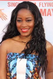 keke palmer curly black angled