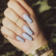coffin shaped nails steal