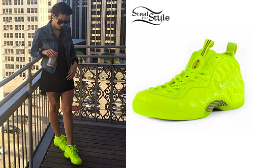 DEV Neon Yellow Sneakers  Steal Her Style