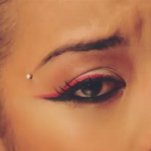 Tragus Piercing Diagram Keyshia Cole Dermal Eyebrow Piercing Steal Her Style