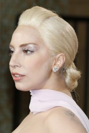 lady gaga straight platinum blonde