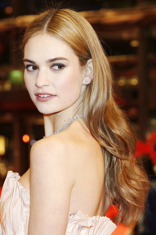 Lily James Hairstyles & Hair Colors | Steal Her Style