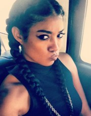 mila straight black pigtail braids