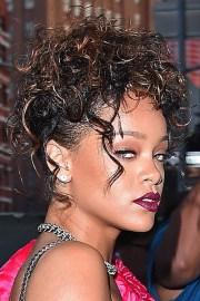 rihanna curly dark brown peek-boo