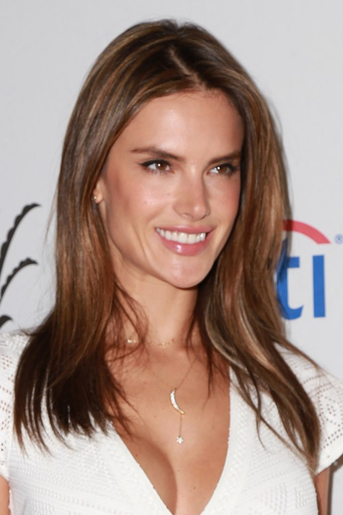 Alessandra Ambrosios Hairstyles Amp Hair Colors Steal Her