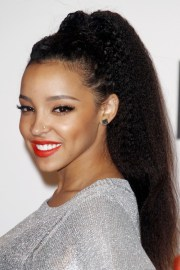 celebrity afro hairstyles steal