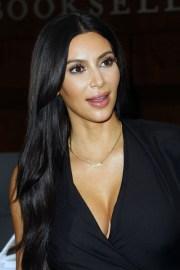 kim kardashian straight black angled
