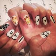genesis rodriguez white lion nail