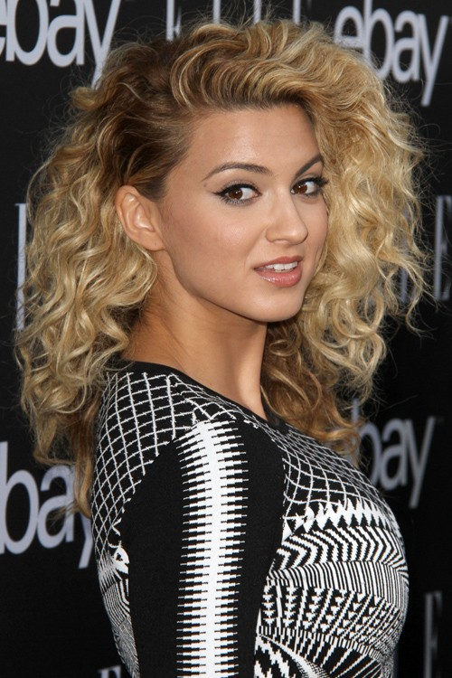 Tori Kelly Curly Light Brown Two Tone Hairstyle Steal