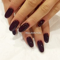Ariana Grande Wine Nails | Steal Her Style