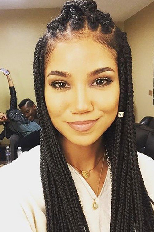 Jhené Aiko's Hairstyles & Hair Colors Steal Her Style