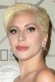 lady gaga straight golden blonde