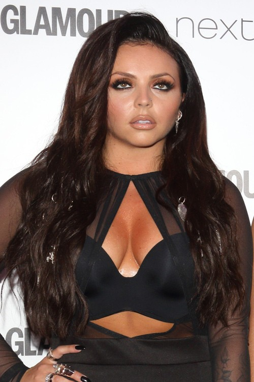 Jesy Nelson Wavy Loose Waves Hairstyle Steal Her Style
