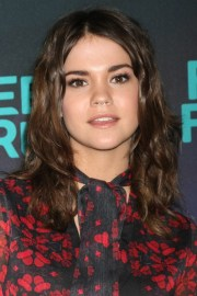 maia mitchell's hairstyles & hair