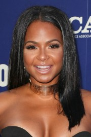christina milian straight black