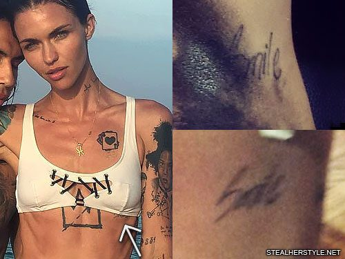20 Torso Tattoos Ruby Rose Ideas And Designs