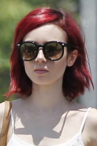 Lily Collins Red Hair Color | www.pixshark.com - Images ...