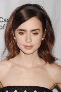 lily collins hairstyles - Hairstyles By Unixcode