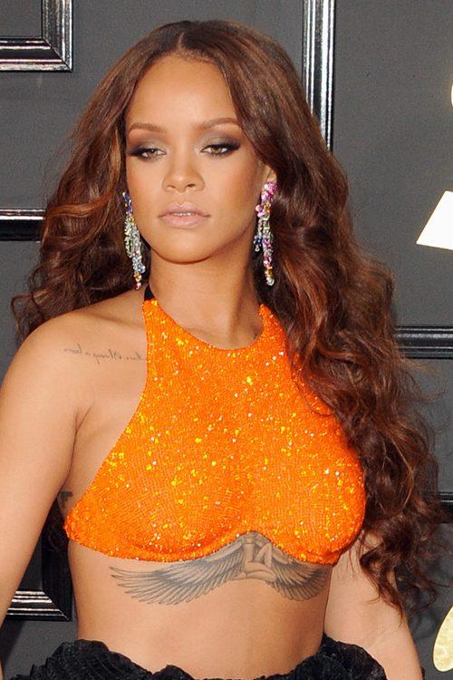 Rihanna39s Orange Hair See Pics Of The Singer39s New