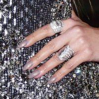 Jennifer Lopez Gray Nails | Steal Her Style